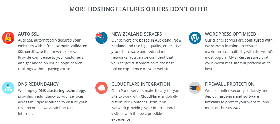 Webslice - Hosting features