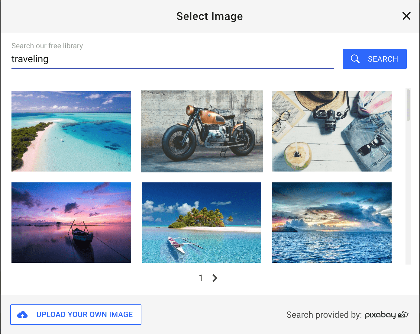Searchable Pixabay photo library - SimpleSite