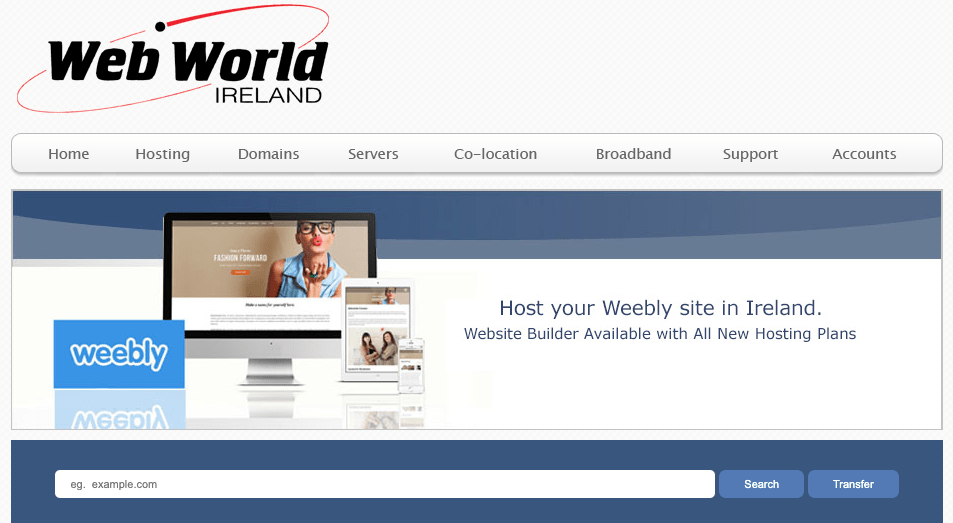 Web World Weebly builder