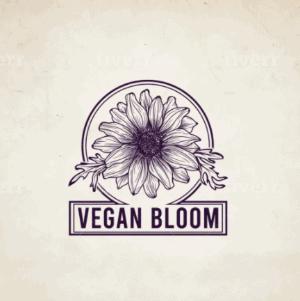 Classic logo - Vegan Bloom