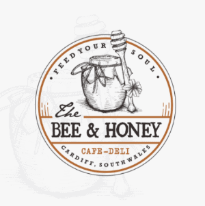 Classic logo - Bee & Honey Cafe