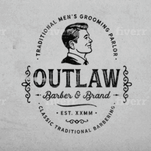 Classic logo - Outlaw Barber & Brand
