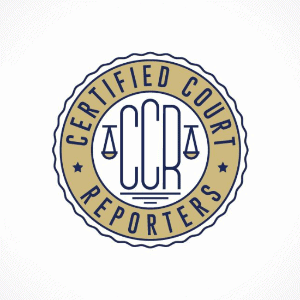Seal logo - Certified Court Reporters