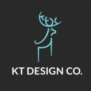 Simple logo - KT Design Co.