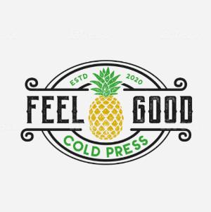 Typography logo - Feel Good