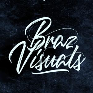 Typography logo - Braz Visuals