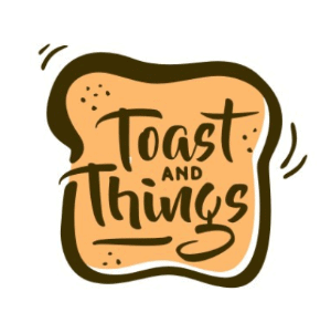 Typography logo - Toast and Things