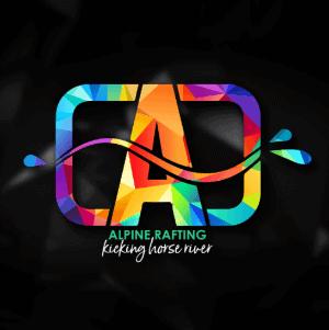 3D logo - Alpine Rafting