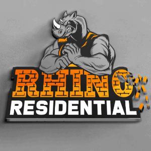 3D logo - Rhino Residential