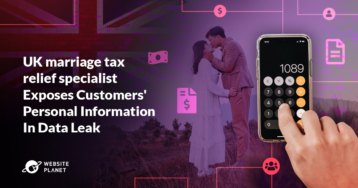Report: UK marriage tax relief specialist Exposes Customers' Personal Information In Data Leak