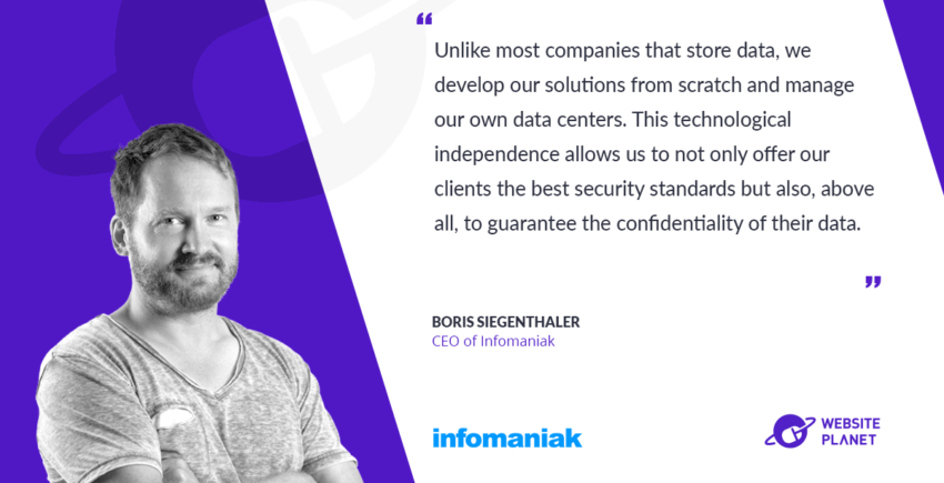 Infomaniak – Cutting Edge Hosting and Data Storage Solutions