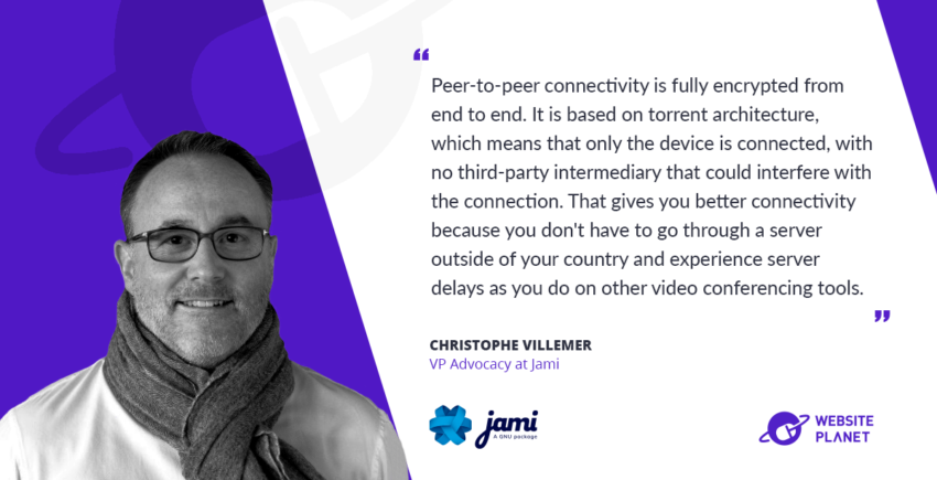Interview with Jami VP Christophe Villemer