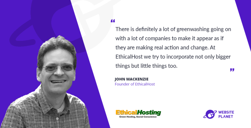 EthicalHost - Sustainability is possible in the web hosting market