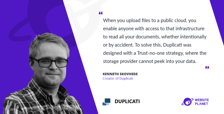 Interview with duplicati Kenneth Skovhede