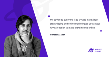 Meet Mordechai Arba, a Founder & CEO of Ecomhunt