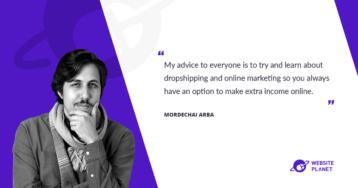 Meet Mordechai Arba, a Founder & CEO of Ecomhunt