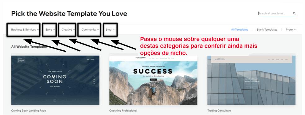 Crie um site no Wix em 10 minutos: 3 passos simples 2021