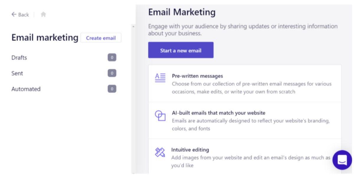 B12 Email Marketing Add-On