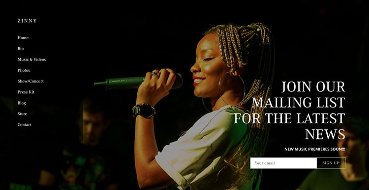 Bandzoogle – the All in One Platform for Musicians