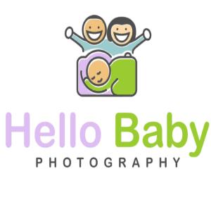 Baby logo - Hello Baby Photography
