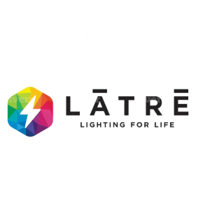 Colorful logo - Latre