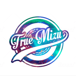 Colorful logo - True Mizu