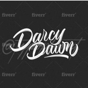 Name logo - Darcy Dawn