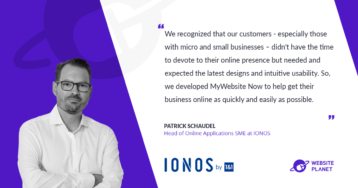 IONOS Helps Small and Medium Sizes Businesses Succeed Online