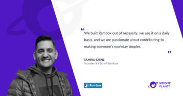 Rambox –  a workspace browser that allows you to manage as many applications as you want, all in one place