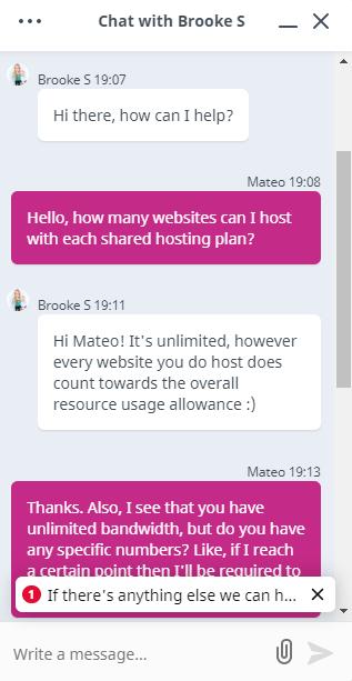 [VentraIP] - [Live chat]