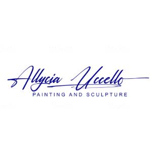 Handwritten logo - Allycia Vicello