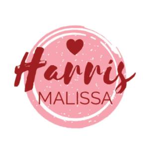Handwritten logo - Harris Malissa