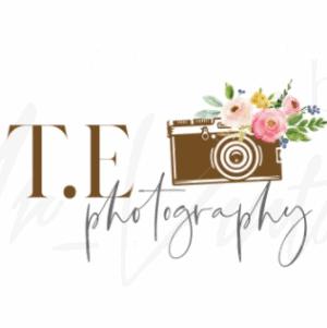 Handwritten logo - T.E photography