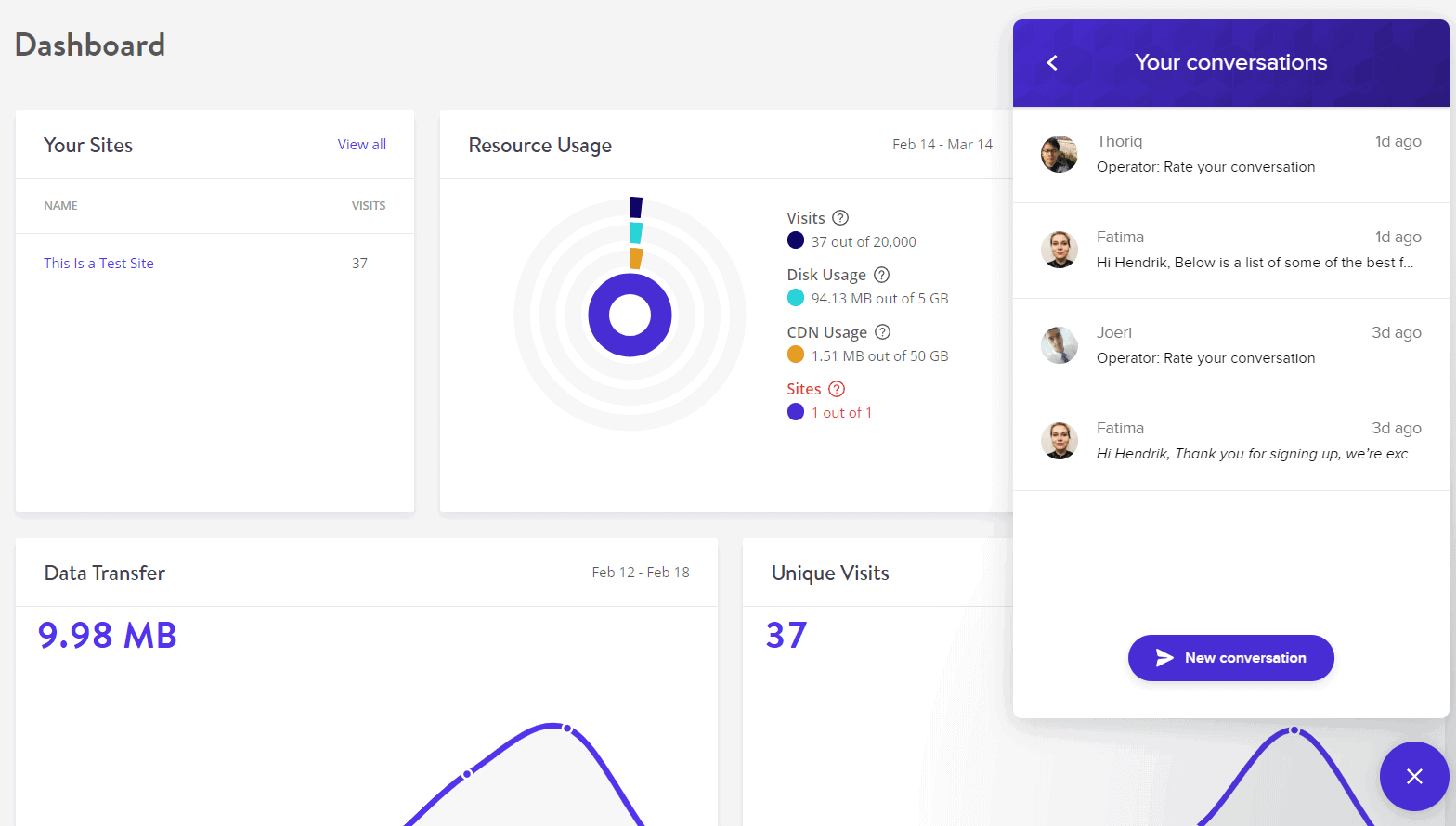 [Kinsta] - [Support Chat]