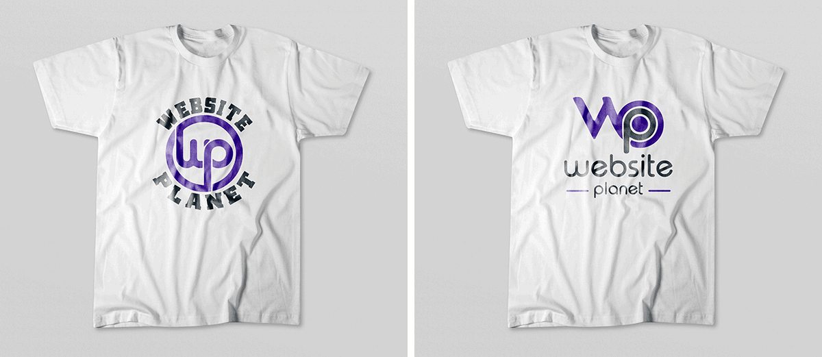 Fiverr seller Christy_anasraj's $25 T-shirt logo designs, examples 3 and 4