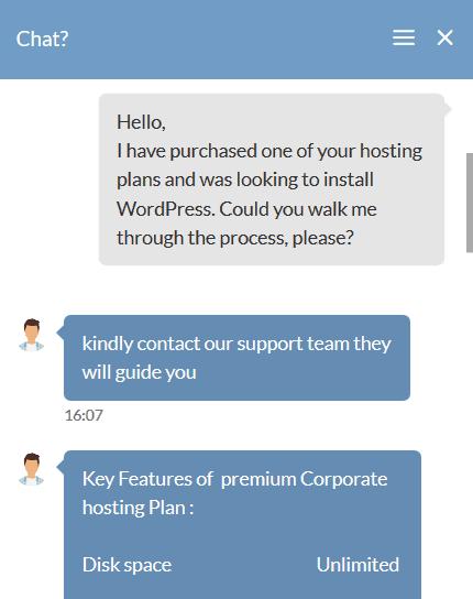 Hosting Raja - customer support