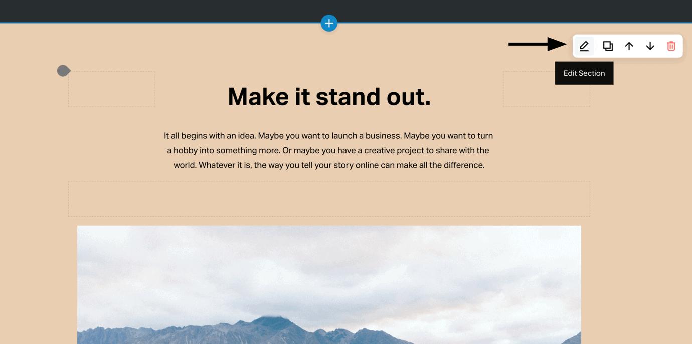 Squarespace - Easy editing