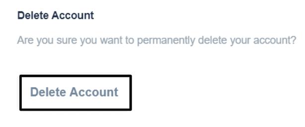 Bookmark Account Settings