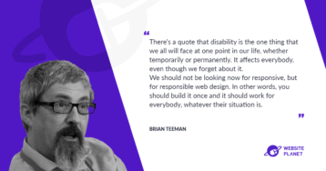 Joomla, Accessibilty and What to Look in Web Hosting with Brian Teeman