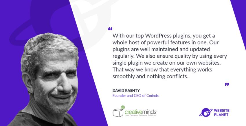 Interview with David Rashti, Founder & CEO at CreativeMinds