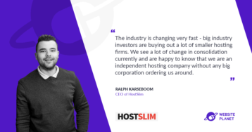 HostSlim – high-quality hosting service with unparalleled support and service levels