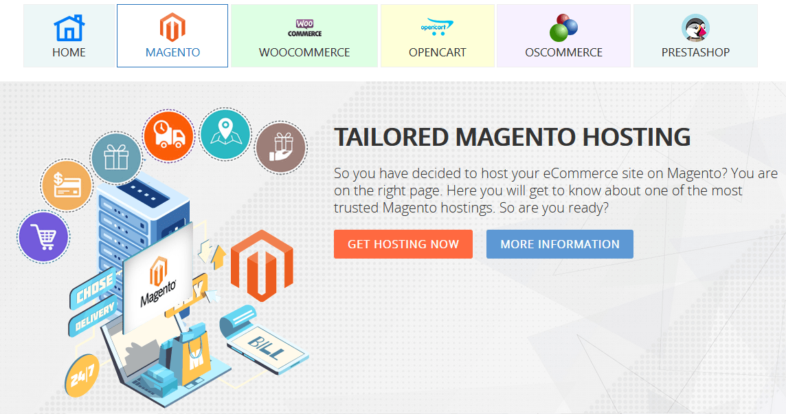 InterServer magento web hosting