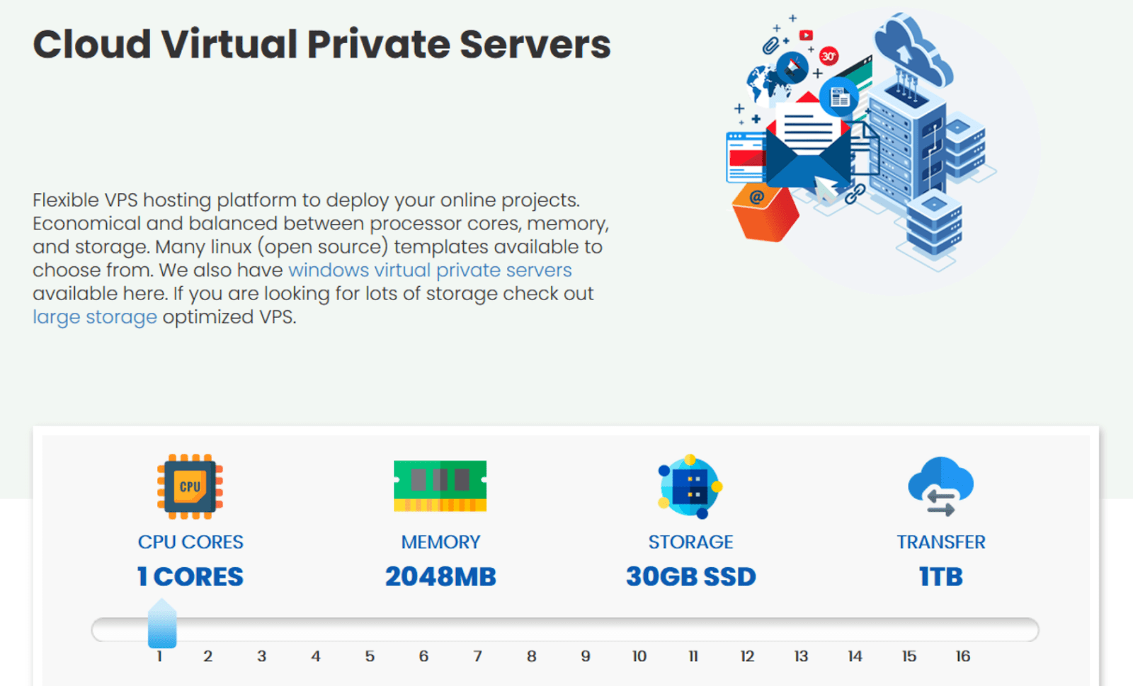 InterServer - VPS hosting by the slice