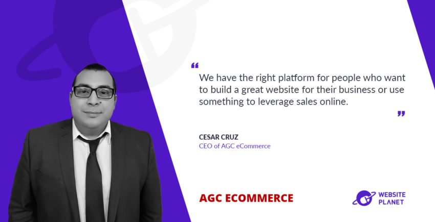 Simplyfing the process of owning and mantaining a website with AGC eCommerce
