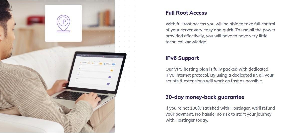 Hostinger web hosting for Java
