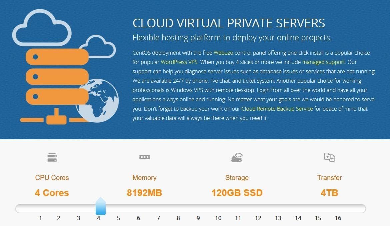 InterServer's VPS hosting for Java