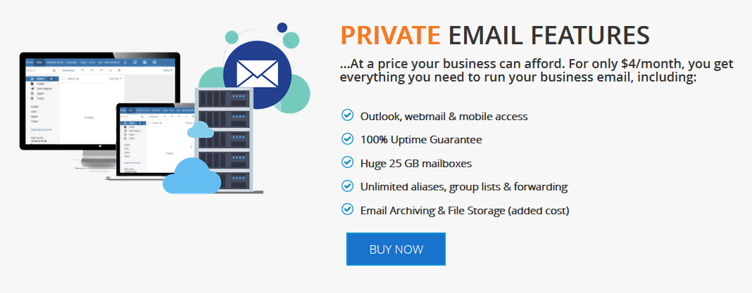 InterServer Private Email Features