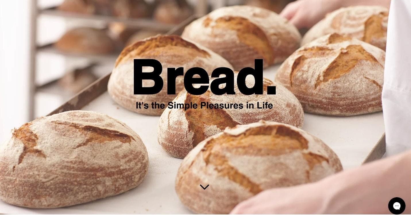 Wix Bread Shop website template