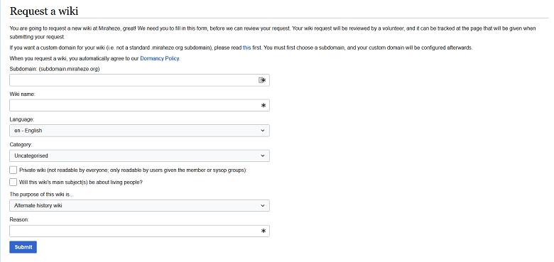 Meminta wiki