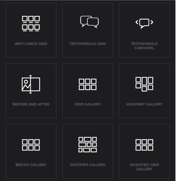 WordPress Ashade Theme Gallery Layouts